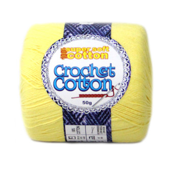 Crochet Cotton Daffodil 50g - 10 Pack | Prices Plus