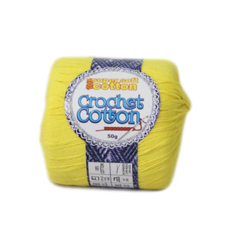 Crochet Cotton Baby Sunshine 50g - 10 Pack | Prices Plus