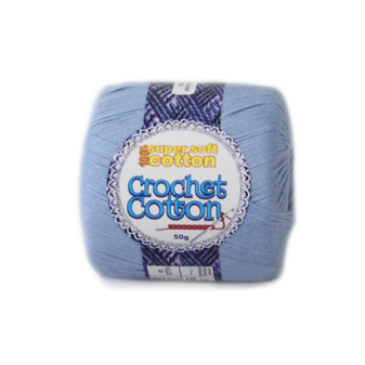 Crochet Cotton Cornflower 50g - 10 Pack | Prices Plus