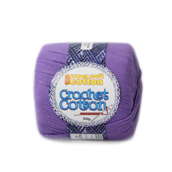 Crochet Cotton Jacaranda 50g - 10 Pack | Prices Plus