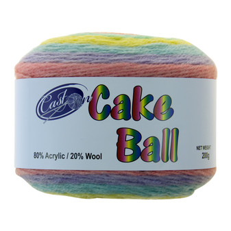 Cake Yarn 200G Unicorn Sprinkles | Prices Plus
