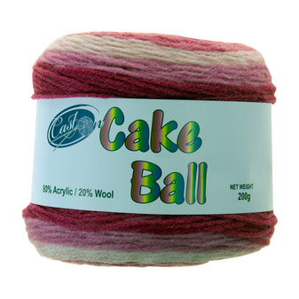 Cake Yarn 200G Mixed Berry | Prices Plus