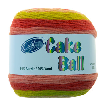 Cake Yarn 200G Watermelon | Prices Plus