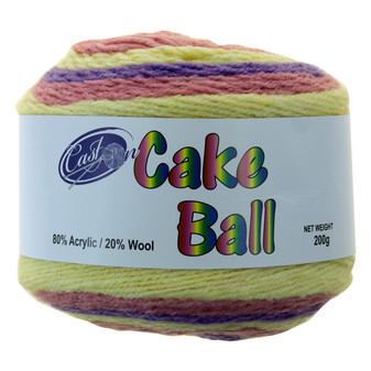 Cake Yarn 200G Fairy Floss | Prices Plus
