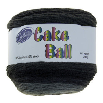 Cake Yarn 200G Licorice | Prices Plus