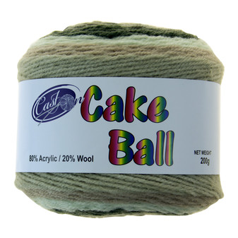 Cake Yarn 200G Camo Cupcake | Prices Plus