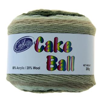 Cake Yarn 200G Camo Cupcake | Prices Plus