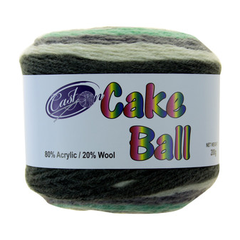 Cake Yarn 200G Mint Julep | Prices Plus