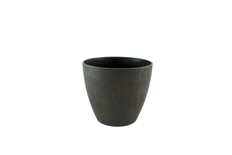 Small Round Ribbed Garden Planter | Prices Plus