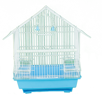 Pitched Roof Birdcage - Small | Prices Plus