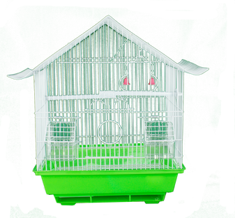 Pitched Roof Birdcage - Medium | Prices Plus