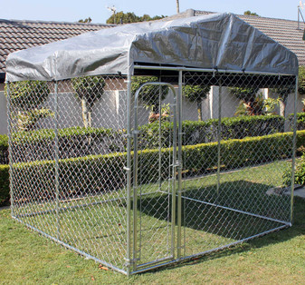 Animal Enclosure with roof | Prices Plus