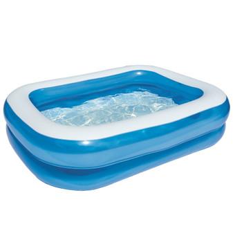 Family Pool: Blue Rectangle | Prices Plus