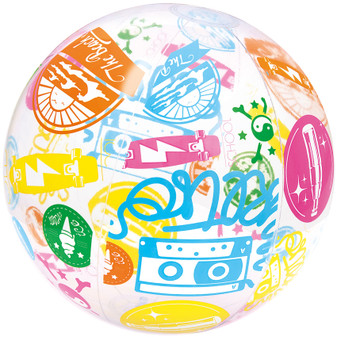 Designer Beach Ball 61cm | Prices Plus