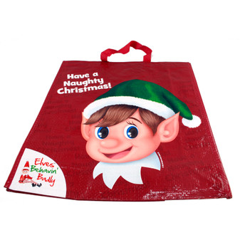 Elves Behaving Badly Shopping Bag | Prices Plus
