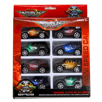 Pullback Racing Car 8Pk | Prices Plus