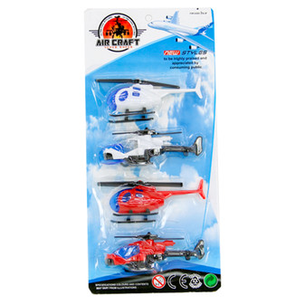 Toy Helicopter 4Pk | Prices Plus