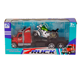 Truck and Motorbike Set   Prices Plus