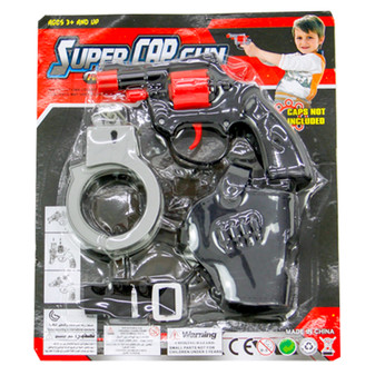 Super Cap Gun Police Set   Prices Plus