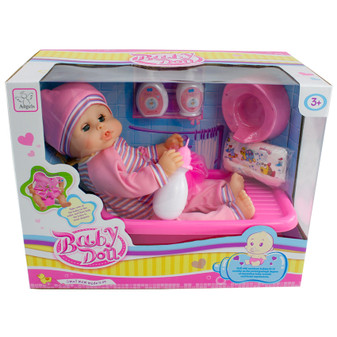 Baby Doll with Bathtub | Prices Plus