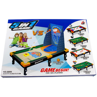 5 IN 1 Table Games | Prices Plus