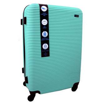 ABS Suitcase 70cm - Green | Prices Plus