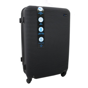 ABS Suitcase 70cm - Black | Prices Plus