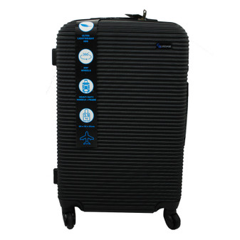 ABS Suitcase 60cm - Black | Prices Plus