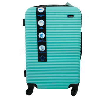 ABS Suitcase 60cm - Green | Prices Plus