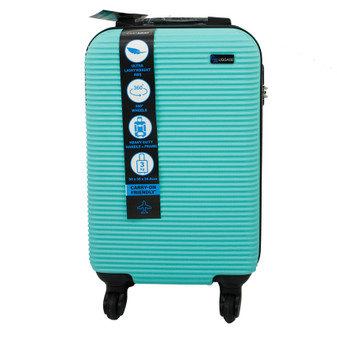 ABS Suitcase 50cm - Green | Prices Plus