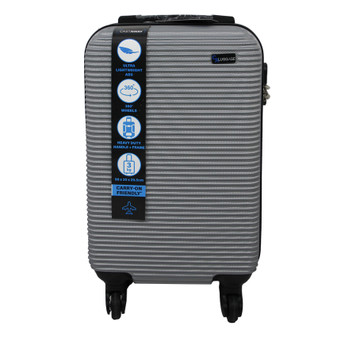 ABS Suitcase 50cm - Silver | Prices Plus