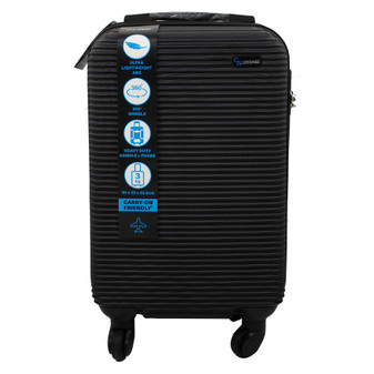 ABS Suitcase 50cm - Black | Prices Plus