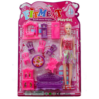 Doll and Furniture Set   Prices Plus