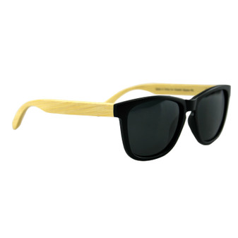 Polarised Bamboo Sunglasses Adult Black | Prices Plus