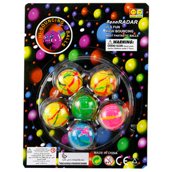 Bouncy Balls 6PK | Prices Plus