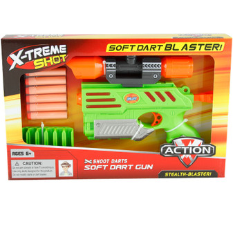Soft Dart Blaster With Bullets  | Prices Plus