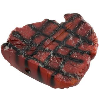 Ruckus & Co Steak Dog Squeaky Toy    Prices Plus