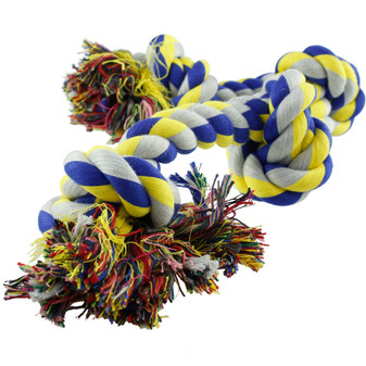 Ruckus & Co Rope with Knots Dog Toy 67 cm | Prices Plus