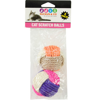 Ruckus & Co Cat Scratch Balls | Prices Plus