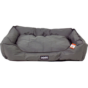 Ruckus & Co Large Oxford Pet Bed Grey | Prices Plus