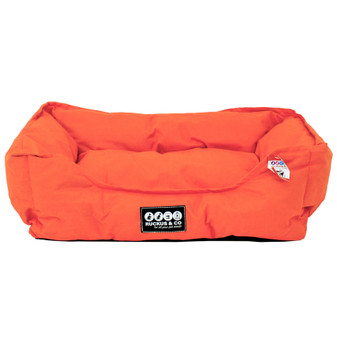 Ruckus & Co Oxford Pet Bed Orange | Prices Plus