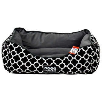 Ruckus & Co Canvas Pet Bed Black | Prices Plus