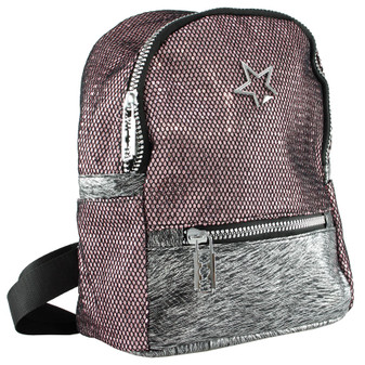 Glitter Backpack Pink | Prices Plus