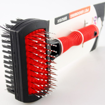 Ruckus & Co Deluxe Double Sided Pet Brush | Prices Plus