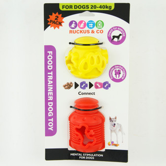 Ruckus & Co Food Trainer Dog Toy - Large | Prices Plus