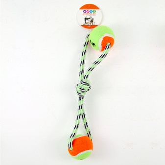 Ruckus & Co Rope with Tennis Ball Toy | Prices Plus