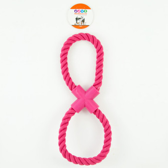 Ruckus & Co Figure 8 Rope Toy | Prices Plus