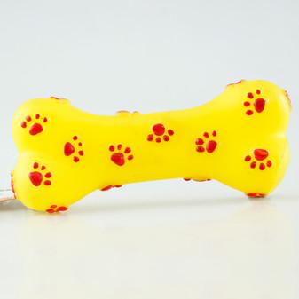 Ruckus & Co Vinyl Bone Dog Toy   Prices Plus