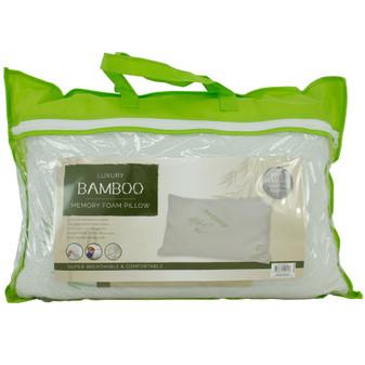 Bamboo Memory Foam Pillow | Prices Plus