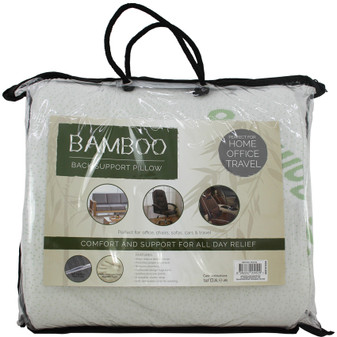 Bamboo Back Support Pillow | Prices Plus